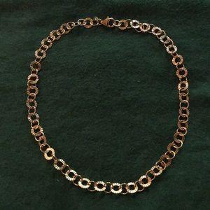 Bronzo italia necklace